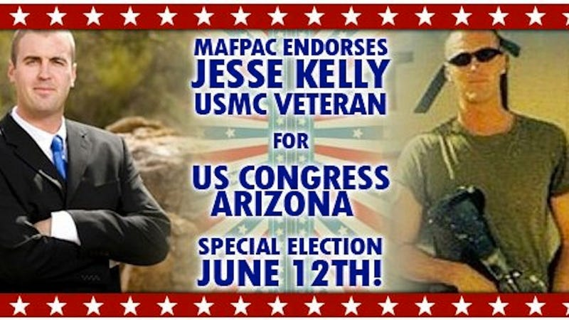 Arizona Voters Wisely Choose Guy Who Didn't Pose With Gun in Campaign Ads for Gabrielle Giffords' Seat
