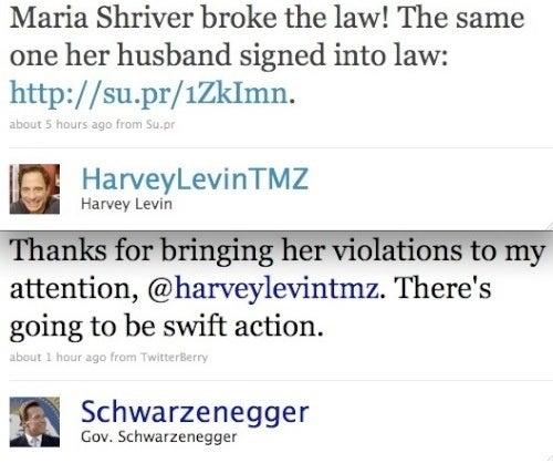 How Will Arnold Schwarzenegger Punish His Poor Wife?