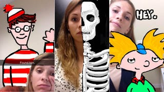 Awesome Snapchat Art Girl Is Awesome