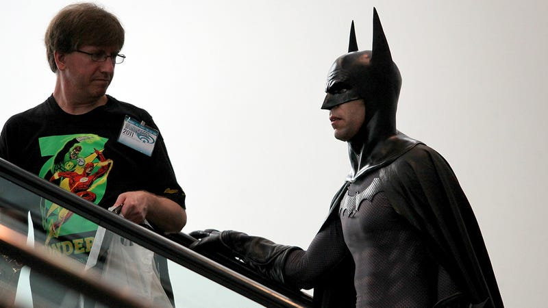 Nerds Ruin Batman for Different Group of Nerds