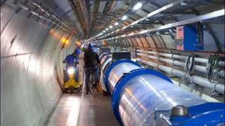 Large Hadron Collider about R