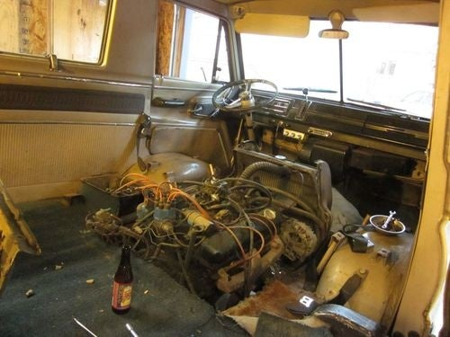 1966 Dodge Sportsman Turns Chez Murilee Into Project Van Hell