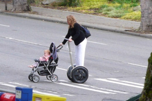 This is What We've Become: Woman Pushes Baby on Segway