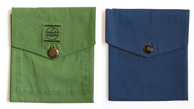 Remember Crookster Bernie Madoff With iPad Cases Made From His Old Pants
