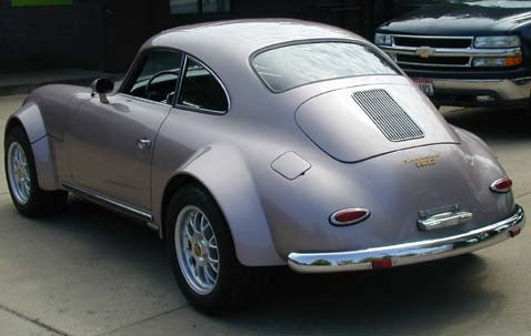 Engine Swap of the Day: Junkman's Small-Block-Powered 356