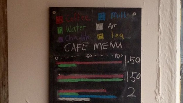 This Coffee Menu Is For Connoisseurs Only