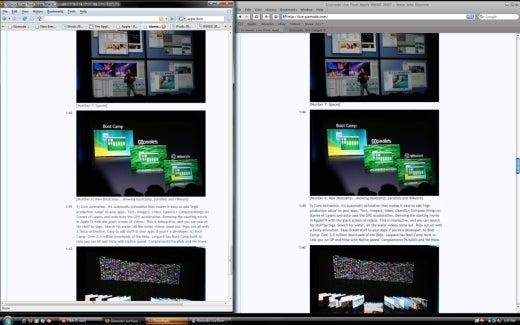 Safari 3 on Windoze (Vista): Impressions One Hour In