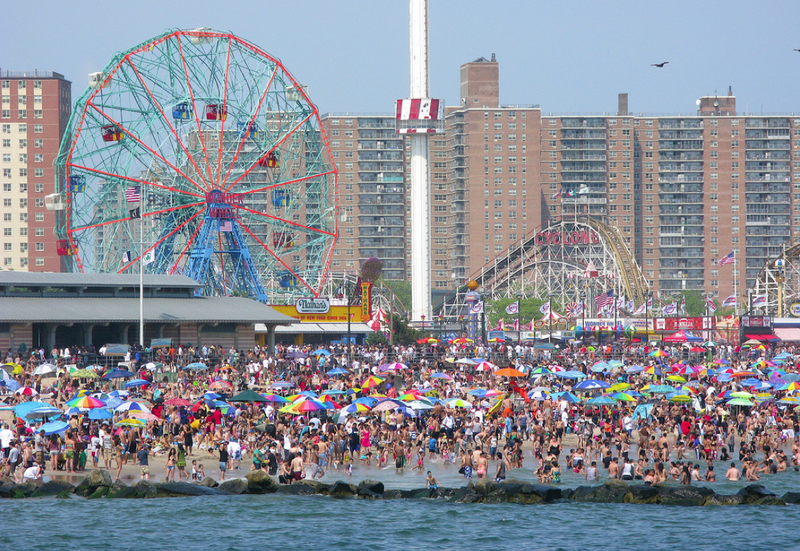 Coney Island Is Cleaner Since that Devastating Hurricane Hit