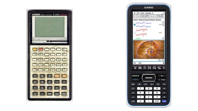You Won't Believe How Much Graphing Calculators Have Changed