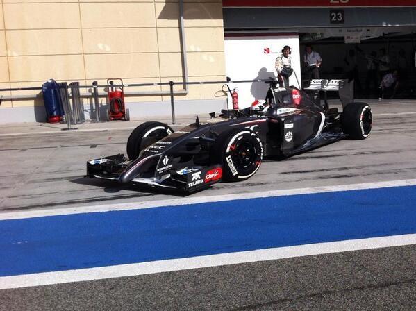 Formula 1:Day Four testing Bahrain
