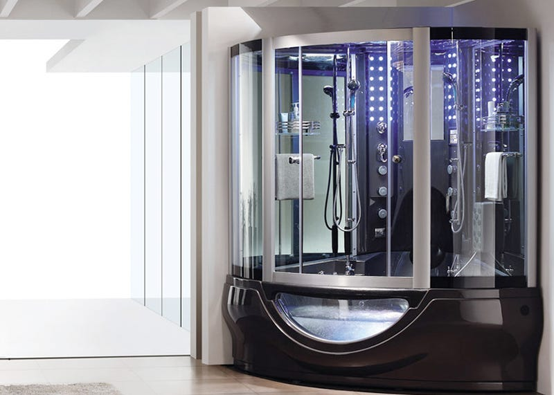 Get Clean and Get Probed By the Aquapeutics Shower