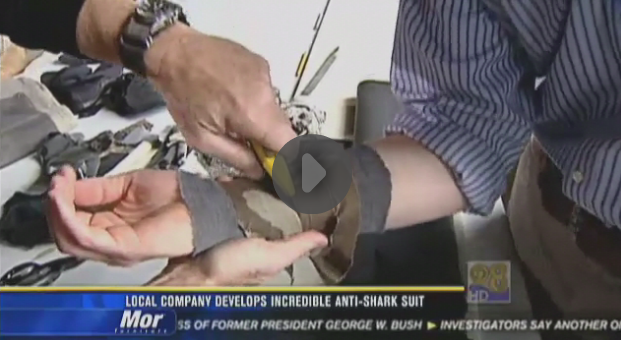 Reporter Takes Box Cutter to the Wrist In the Name of Shark Suit Testing