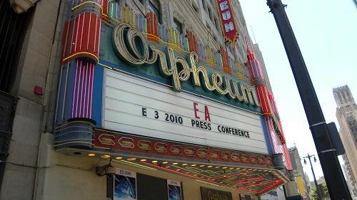 EA's 2010 E3 Press Conference LIVE