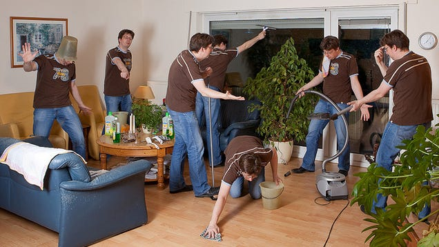 how to keep your house clean and organized