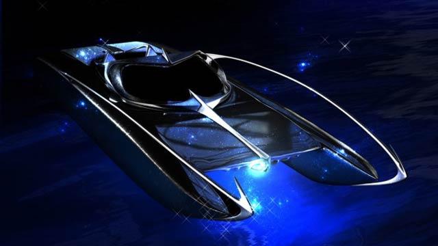 This Amazing Bat-Speedboat Is Real