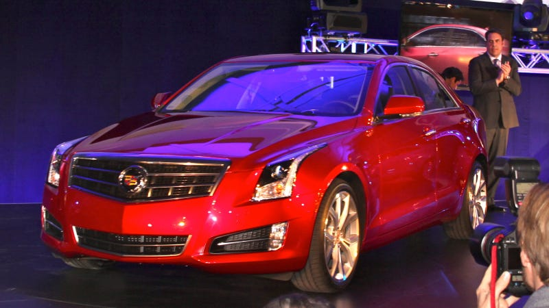 2013 Cadillac ATS: Live Photos
