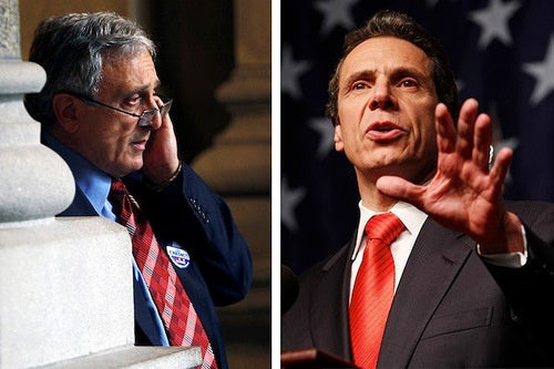 Andrew Cuomo Won't Take Carl Paladino's Concession Phone Call