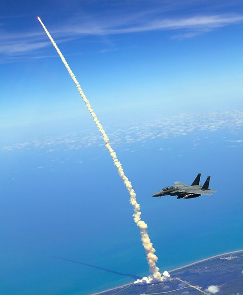 Atlantis, You've Cleared the F-15