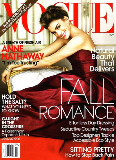 Anne Hathaway's Vogue Cover Actually Isn't Terrible