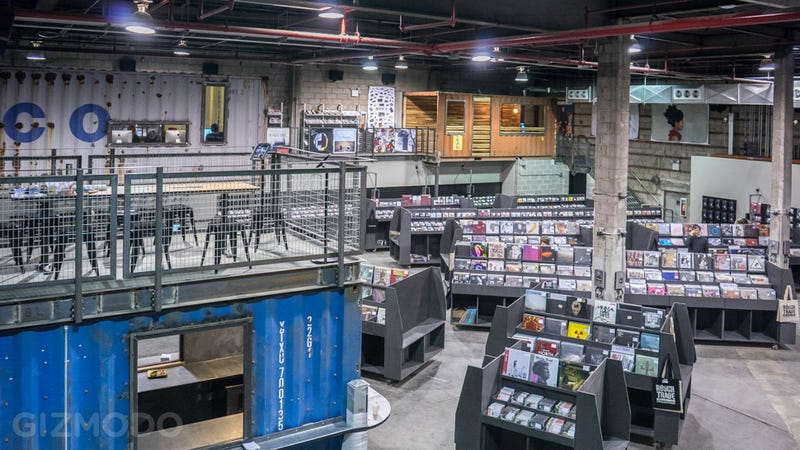 More Than a Record Shop: Inside Brooklyn's Massive New Music Outpost