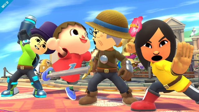 Mii Fighters Were Almost Part Of Smash Bros. Brawl