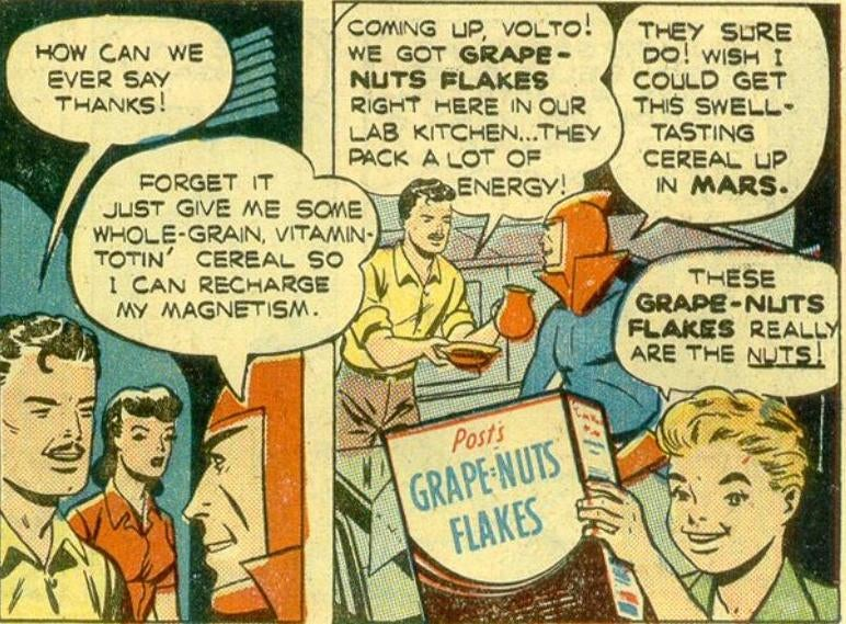 10 Strangest Advertising Superheroes of the 1940s