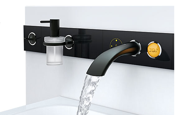 Ondus Digitecture Wall Mount Is The KITT of Faucets