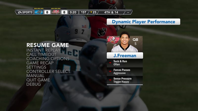 Madden NFL Dynamic Player Performance