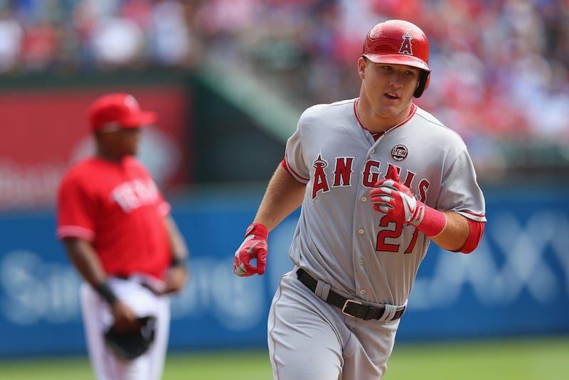 Angels Extend Mike Trout Through 2020