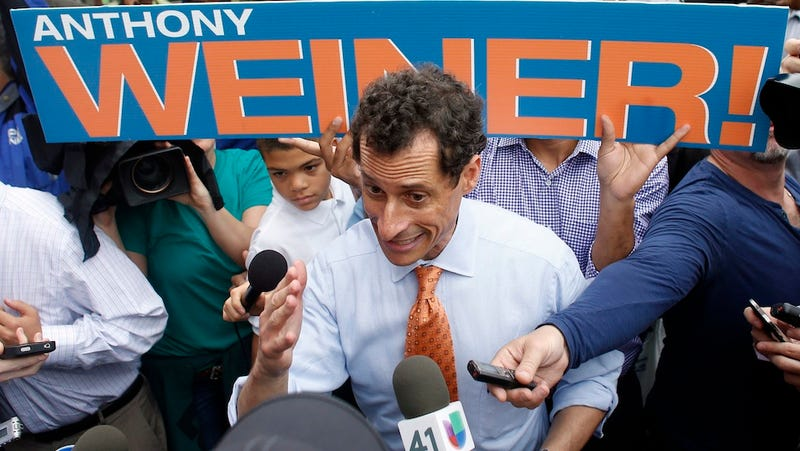 Anthony Weiner Allegedly Kept on Sextin', Called Self 'Carlos Danger'