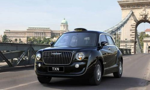 This Is The New London Taxi