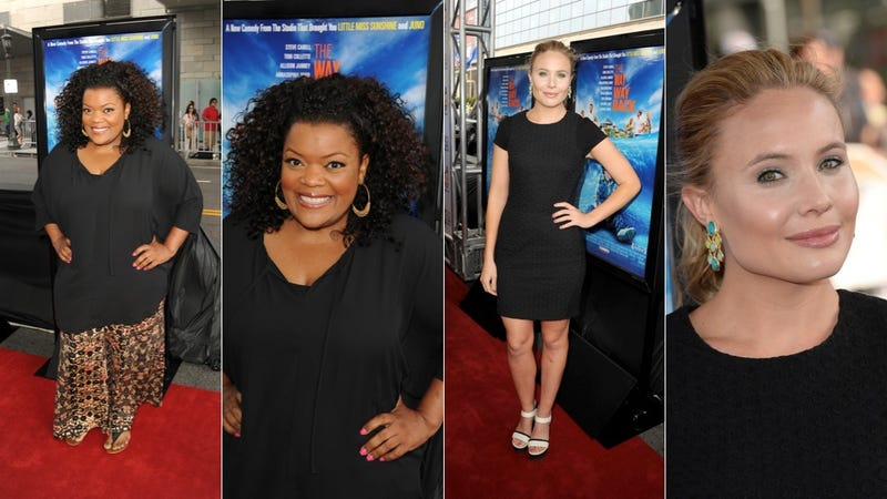 Sweet Summer Dresses and Hot, Hot Hair at The Way Way Back Premiere