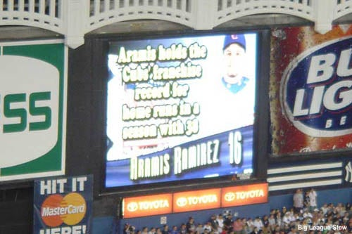 Sammy Sosa Dissed By All-Star Signage
