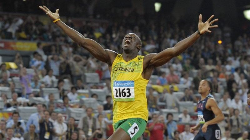 How Usain Bolt Can Shave 0.13 Seconds Off His 100m Time (Using Math)