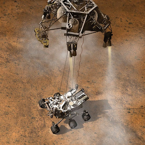 NASA says Curiosity's wind sensor was likely damaged during rocket-powered landing