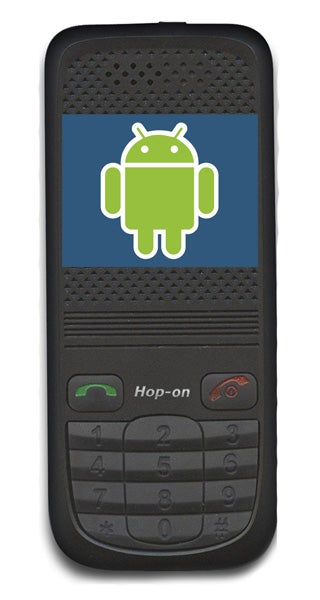 Hop-On To Unveil Android Phone at CES '09 (Will It Biodegrade?)
