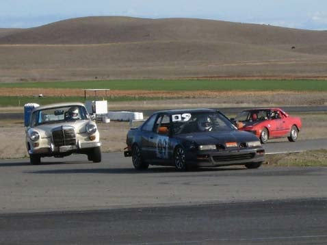 Fastest Car At Thunderhill: Team InAccuracy's Acura Integra