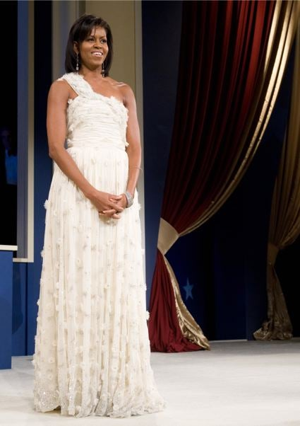 Michelle Obama Will Donate Inaugural Dress To Smithsonian