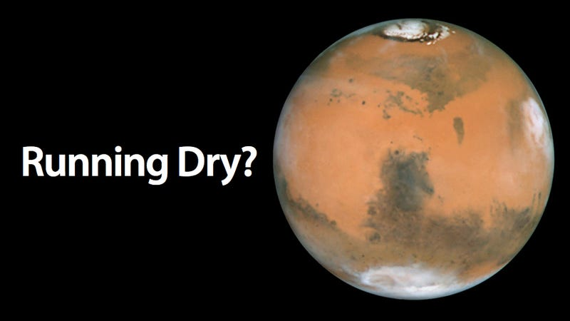 Mars Might Not Have Been as Moist as We Thought