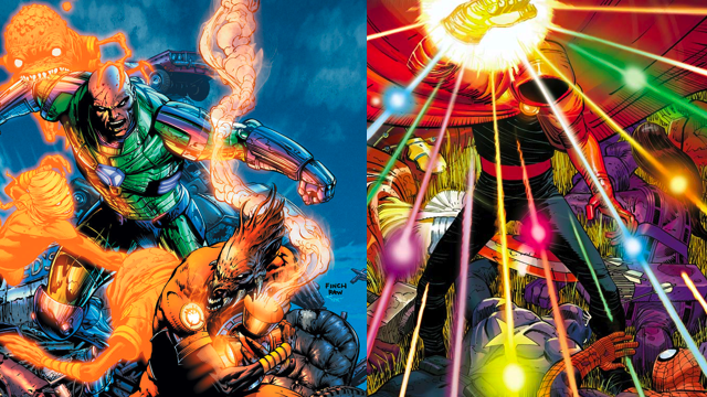 Comic Wednesday brings us Orange Lanterns and an Infinity Gauntlet