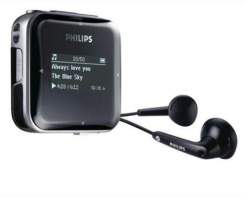 Philips' GoGear SA52 PMP Has Audio Upscaling
