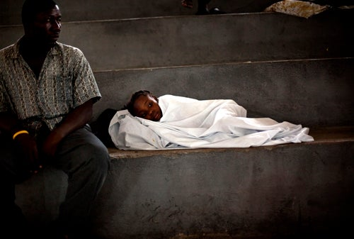 Cholera Could Hit 'Hundreds of Thousands' of Haitians