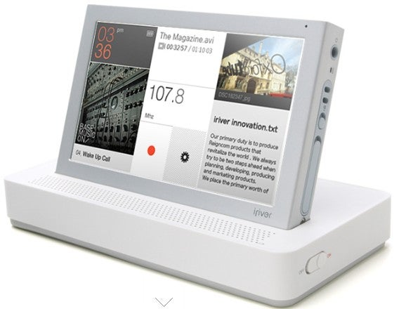iriver P7 Touchscreen PMP Available for Pre-Order