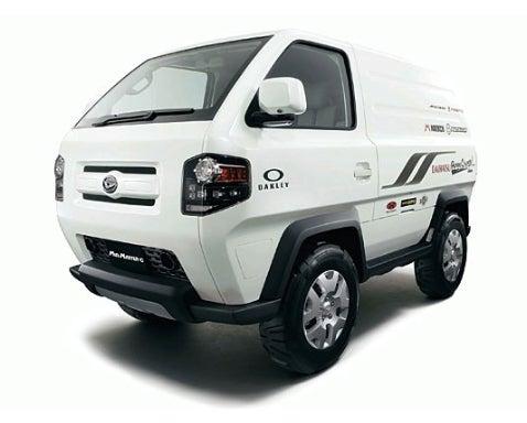 Tokyo Auto Show Preview: Daihatsu Mudmaster-C Concept