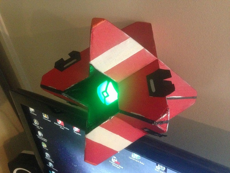 Homemade ghost from destiny