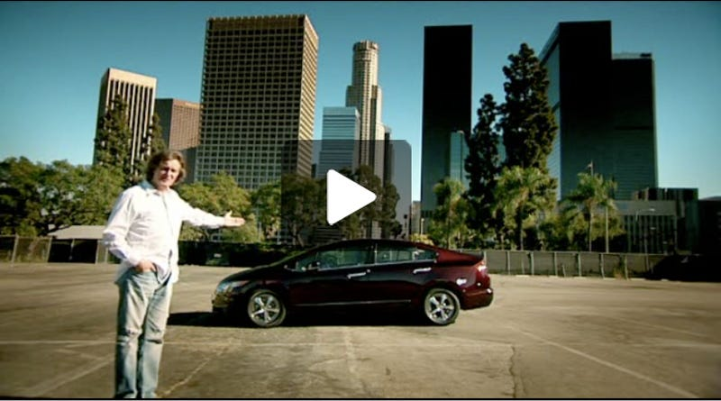 Top Gear Reviews Honda FCX Clarity