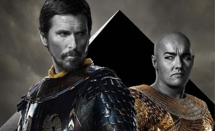 The Posters For Ridley Scott's Exodus Are Astoundingly Not Good