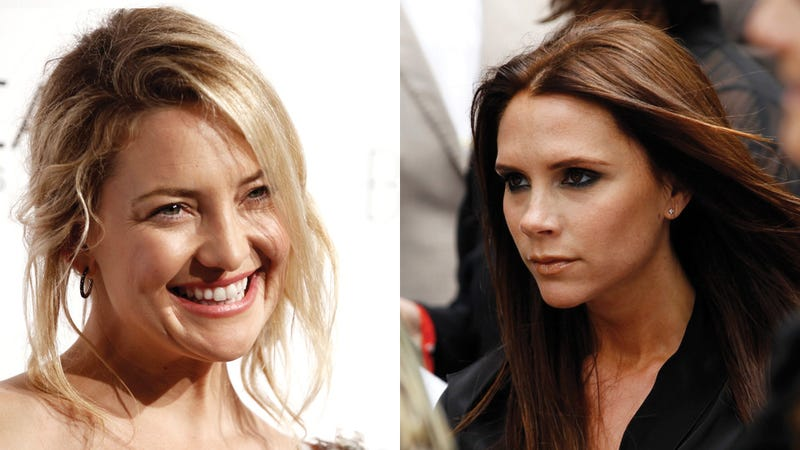 Victoria Beckham, Kate Hudson Give Birth