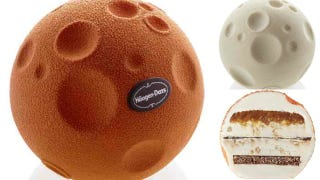 Moon-Shaped Ice-Cream Sandwich Balls: Coming to a Freezer Near You