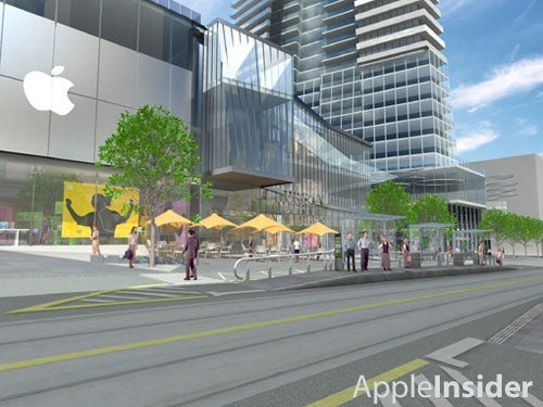 New Apple Store: Melbourne, Australia